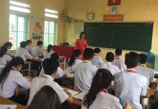 Cô giáo dạy Văn tâm huyết với nghề