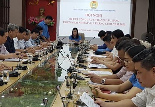 Công đoàn Viên chức thành phố sơ kết công tác 6 tháng đầu năm 2020