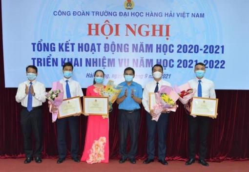Trường Đại học Hàng hải Việt Nam tổng kết năm học 2020-2021