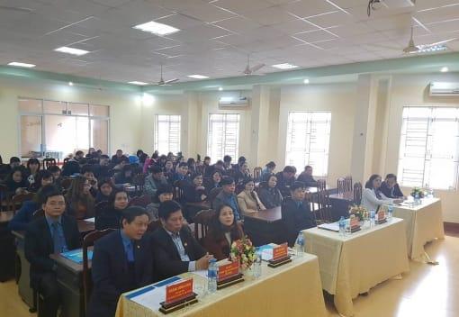 Khai giảng lớp đào tạo lý luận và nghiệp vụ công tác công đoàn - K203