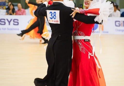 CLB Khiêu vũ Thể thao tham gia giải Khiêu vũ Thể thao Quốc tế Cup Thăng Long Hà Nội mở rộng