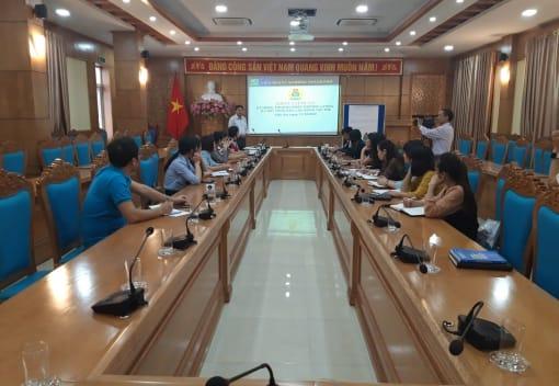 Liên đoàn Lao động quận Kiến An tổ chức Hội nghị tập huấn kỹ năng thương lượng, ký kết thỏa ước lao động tập thể