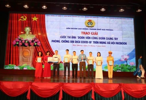 Liên đoàn Lao động thành phố trao giải 03 Cuộc thi