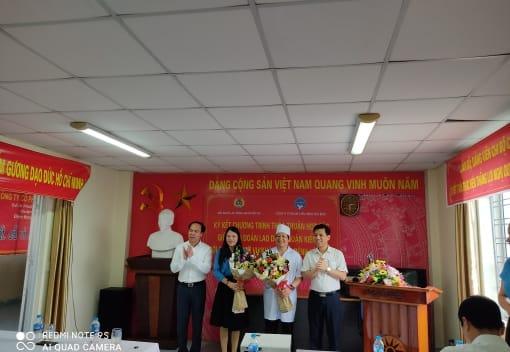 Liên đoàn Lao động quận Kiến An tổ chức Hội nghị ký chương trình thỏa thuận hợp tác