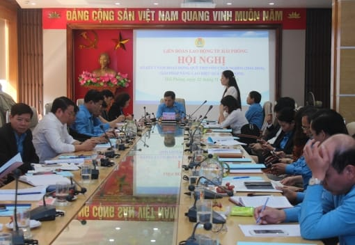 Quỹ trợ vốn CNVCLĐ nghèo LĐLĐ thành phố sơ kết 5 năm hoạt động (2014-2019)