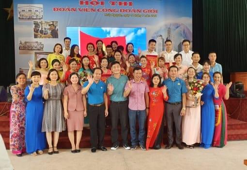 Công đoàn Công ty TNHH CN Giầy Aurora Việt Nam  tổ chức Hội thi Đoàn viên công đoàn giỏi