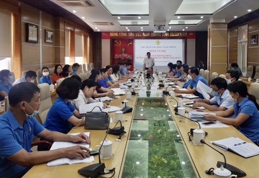 LĐLĐ thành phố: Tổ chức Hội nghị tham gia ý kiến Dự thảo hướng dẫn, quy định tài chính công đoàn đối với các cơ quan công đoàn cấp trên cơ sở