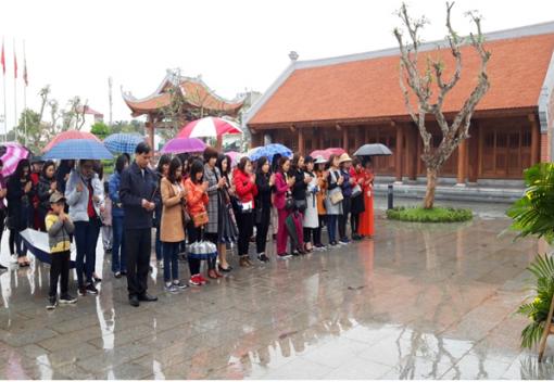 Liên đoàn Lao động quận Kiến An tổ chức hoạt động nhân kỷ niệm 109 năm Ngày Quốc tế phụ nữ 8/3 và 1979 năm Ngày Khởi nghĩa Hai Bà Trưng; Ngày Quốc tế Hạnh phúc 20/3