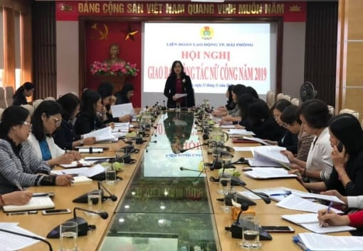 Hội nghị giao ban công tác nữ công năm 2019