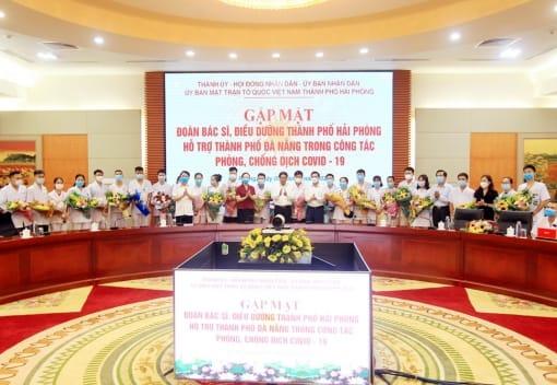 Đoàn viên, CNVCLĐ ngành Y tế tình nguyện chi viện cho TP Đà Nẵng