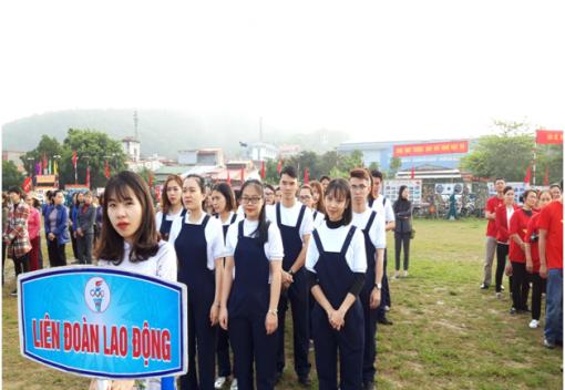 Liên đoàn Lao động quận Kiến An Tham gia Lễ ra quân huấn luyện, phát động thi đua năm 2019