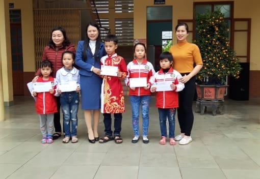 Liên đoàn Lao động quận Kiến An Thăm, tặng quà các cháu học sinh có hoàn cảnh khó khăn nhân dịp Tết Nguyên đán Canh Tý 2020