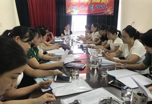 Liên đoàn Lao động huyện An Dương tổ chức Hội nghị đánh giá kết quả hoạt động Công đoàn và bình xét thi đua khối Giáo dục năm học 2019 - 2020