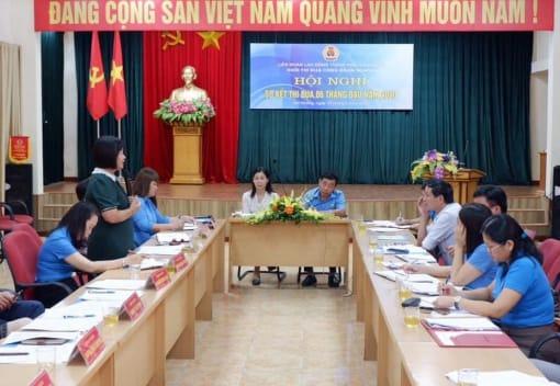 Hội nghị Sơ kết thi đua 6 tháng đầu năm 2020 Khối thi đua Công đoàn ngành thuộc Liên đoàn Lao động thành phố Hải Phòng