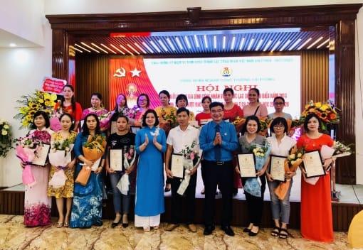 CĐ ngành Công thương Hải Phòng biểu dương gia đình CNVCLĐ tiêu biểu, con CNVCLĐ học giỏi nhân kỷ niệm 91 năm Ngày thành lập Công đoàn Việt Nam