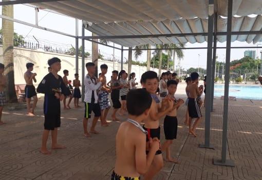 Hoạt động CLB, lớp học sở thích tại Cung Văn hóa LĐHN Vệt - Tiệp Hải Phòng hưởng ứng Tháng hành động vì trẻ em