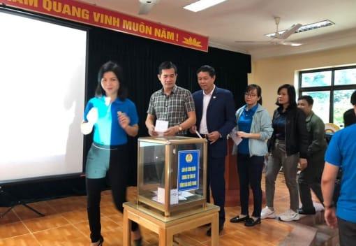 Liên đoàn Lao động quận Đồ Sơn tổ chức phát động ủng hộ vì đồng bào miền trung