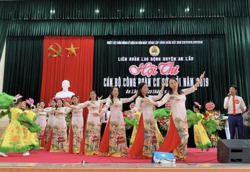 Liên đoàn Lao động huyện An Lão tổ chức hội thi cán bộ công đoàn cơ sở giỏi năm 2019