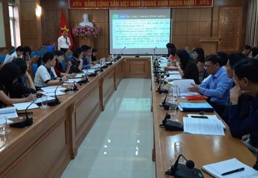 Liên đoàn Lao động quận Kiến An tổ chức Hội nghị tập huấn về thực hiện Quy chế dân chủ, Hội nghị cán bộ công chức, Hội nghị người lao động, tổ chức và hoạt động của Ban thanh tra nhân dân