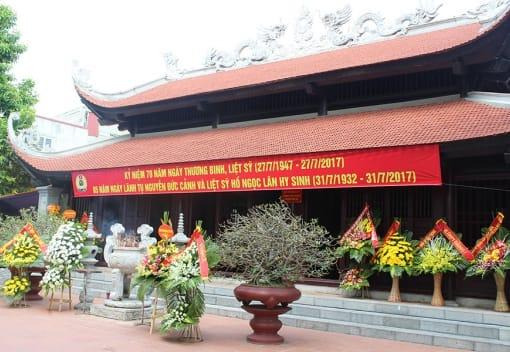 Nhà tưởng niệm đồng chí Nguyễn Đức Cảnh