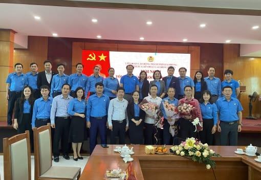 Khối thi đua Liên đoàn Lao động huyện tổ chức Hội nghị tổng kết giao ước thi đua năm 2020