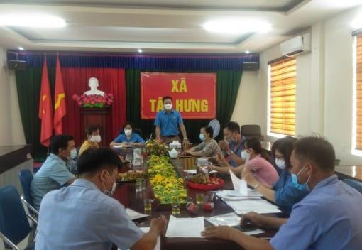 LĐLĐ huyện Tiên Lãng giải ngân vốn cho đoàn viên quy Quỹ Trợ vốn CNVCLĐ nghèo