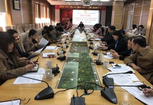 Liên đoàn Lao động Thành phố tổ chức Hội nghị giao ban công tác Tuyên giáo và Dư luận xã hội năm 2019