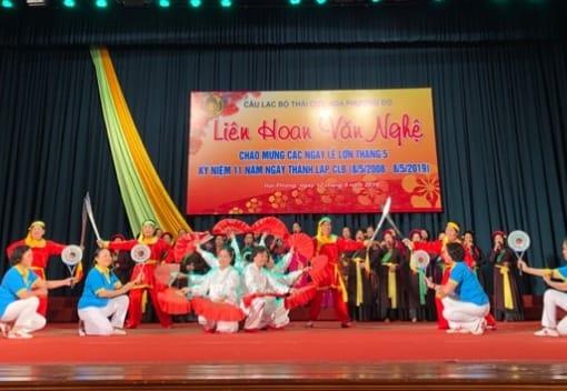 CLB Thái cực Hoa phượng đỏ kỷ niệm 11 năm Ngày thành lập (8/5/2008 – 8/5/2019)