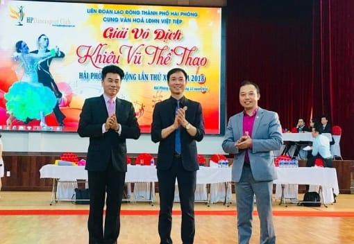 Giải Vô địch Khiêu vũ Thể thao Hải Phòng mở rộng lần thứ XIV - năm 2018