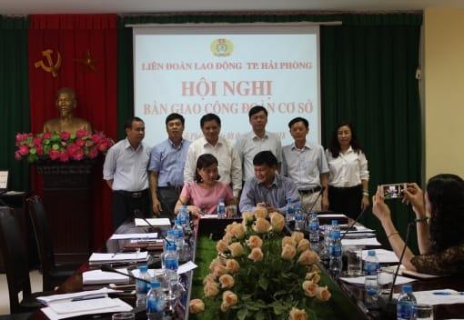 Hội nghị bàn giao Công đoàn cơ sở
