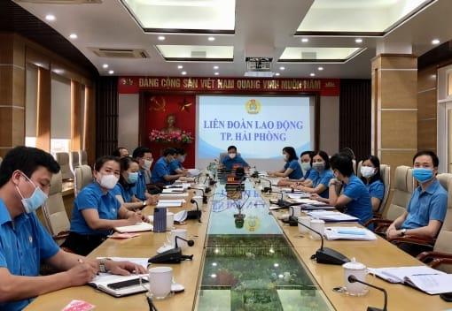 Tổng Liên đoàn Lao động Việt Nam tổ chức hội nghị chuyên đề trực tuyến