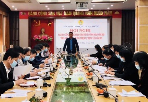 Hội nghị giao ban về công tác kiểm tra giám sát của công đoàn năm 2020