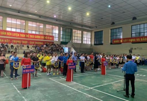 Liên đoàn Lao động huyện Vĩnh Bảo tổ chức chương trình Phát động Tháng Công nhân, Khai mạc giải Cầu lông CNVCLĐ năm 2021