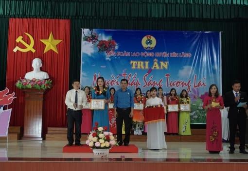 LĐLĐ huyện Tiên Lãng tri ân  Ngày nhà giáo Việt Nam 20.11