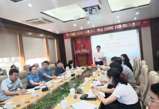Liên đoàn Lao động thành phố tổ chức Hội nghị giao dự toán tác tài chính công đoàn năm 2021