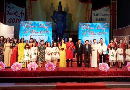 Liên đoàn Lao động quận Lê Chân tổ chức Chương trình Duyên dáng Lê Chân