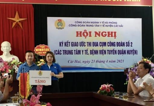 Công đoàn ngành Y tế thăm, tặng quà các đơn vị CĐCS nhân dịp tháng Công nhân