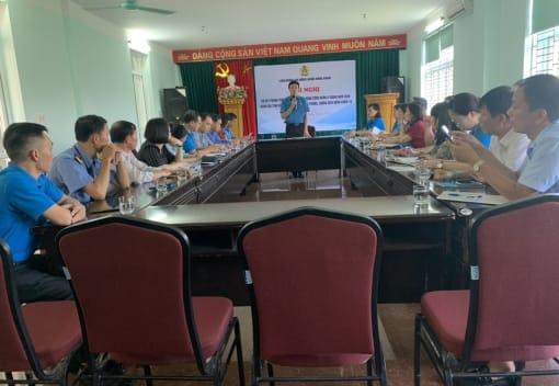 Liên đoàn Lao động quận Hồng Bàng sơ kết phong trào CNVCLĐ và hoạt động công đoàn 9 tháng năm 2020; đánh giá tình hình thực hiện công tác phòng, chống Covid 19;