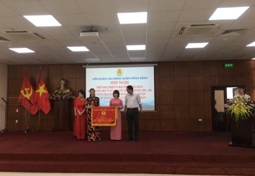 Liên đoàn Lao động quận Hồng Bàng tổ chức Hội nghị triển khai nhiệm vụ hoạt động công đoàn và kí giao ước thi đua năm học 2020-2021