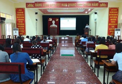 Liên đoàn Lao động quận Kiến An tổ chức Hội nghị tập huấn về thực hiện Quy chế dân chủ cơ sở