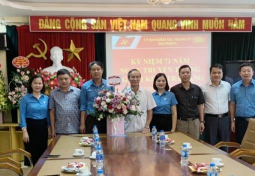 Liên đoàn Lao động thành phố chúc mừng các Ban Đảng nhân ngày truyền thống
