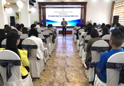 Liên đoàn Lao động thành phố tập huấn công tác tuyên giáo năm 2020