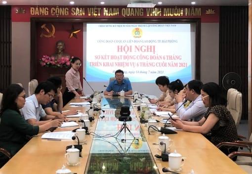 Công đoàn cơ quan LĐLĐ thành phố sơ kết hoạt động 6 tháng đầu năm