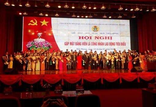 Liên đoàn Lao động thành phố tổ chức Hội nghị gặp mặt 90 đảng viên công nhân lao động tiêu biểu nhân kỷ niệm 90 năm Ngày Thành lập Đảng Cộng sản Việt Nam