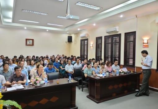 Công đoàn ngành Nông nghiệp và PTNT Hải Phòng tổ chức tập huấn, triển khai Điều lệ và Hướng dẫn thi hành Điều lệ Công đoàn Việt Nam khóa XII