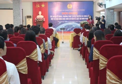 Hội nghị tập huấn kỹ năng, phương pháp tuyên truyền, cung cấp một số nội dung kiến thức cơ bản về Luật an ninh mạng