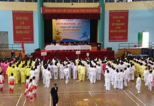 CLB Thái cực Hoa Phượng đỏ tham gia Giải vô địch Wushu - Thái cực thành phố Hải Phòng lần thứ IX năm 2019