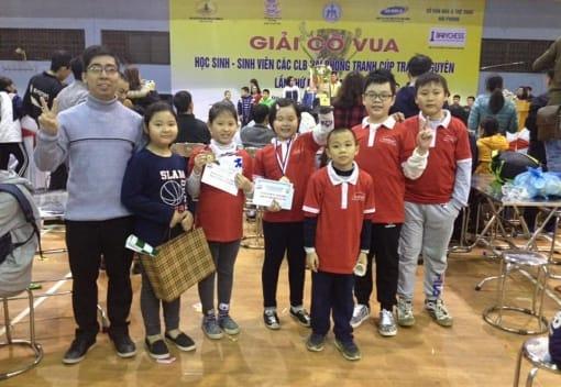 CLB Cờ vua tham gia Giải Cờ Vua Học sinh - sinh viên các CLB Hải Phòng lần thứ I – 2018