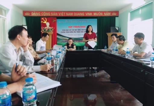 Liên đoàn Lao động quận Hồng Bàng tổ chức Hội nghị Công bố Quyết định sáp nhập, kiện toàn các Cụm VHTT CNVCLĐ trên địa bàn quận.