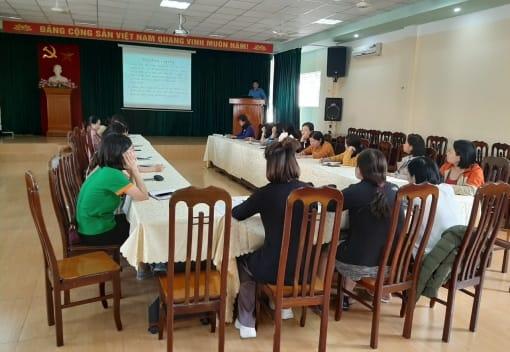 Liên đoàn Lao động quận Ngô Quyền tập huấn nghiệp vụ công tác tài chính Công đoàn